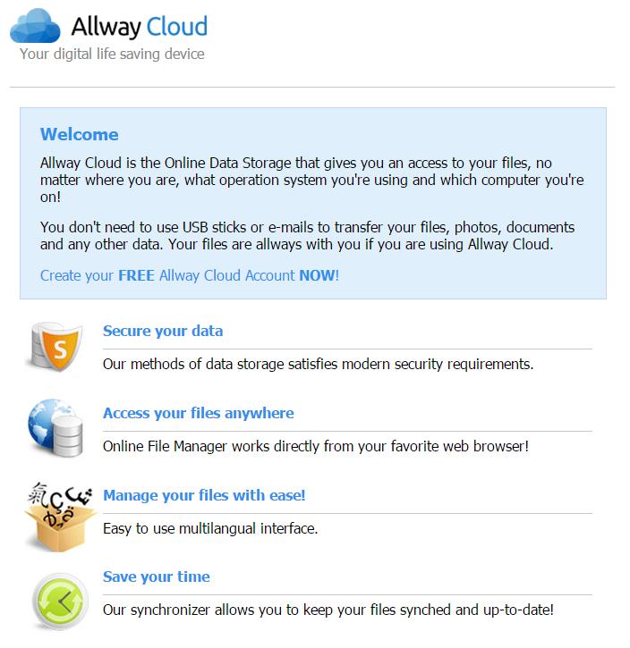 allway cloud, cloud opslag overal ter wereld